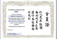 Martial Arts Certificate Templates   Vincegray2014 inside Martial Arts Certificate Templates