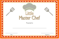 Master Chef Certificate Template Free 2 In 2020 inside Chef Certificate Template Free Download 2020