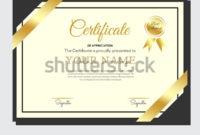 Modern Certificate Template Appreciation Award Creative pertaining to Handwriting Certificate Template 10 Catchy Designs
