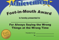 Most Likely To Awards – Funny Award Ideas | Funny Awards throughout Best Most Likely To Certificate Template 9 Ideas