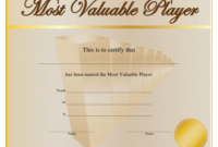 Most Valuable Player Award Certificate Template Download inside Best Mvp Award Certificate Templates Free Download