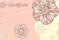 Mother'S And Father'S Day Gift Certificates (22+ Editable pertaining to Mothers Day Gift Certificate Templates