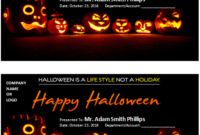 Ms Word Halloween Gift Certificate Templates | Word & Excel throughout Halloween Gift Certificate Template Free