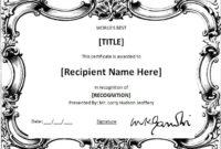 Ms Word World'S Best Award Certificate Template | Word in Worlds Best Boss Certificate Templates Free