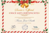 Nice List Certificate – Photofunia: Free Photo Effects And inside Unique Santas Nice List Certificate Template Free