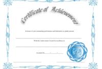 Outstanding Performance Achievement Certificate Template pertaining to Outstanding Performance Certificate Template