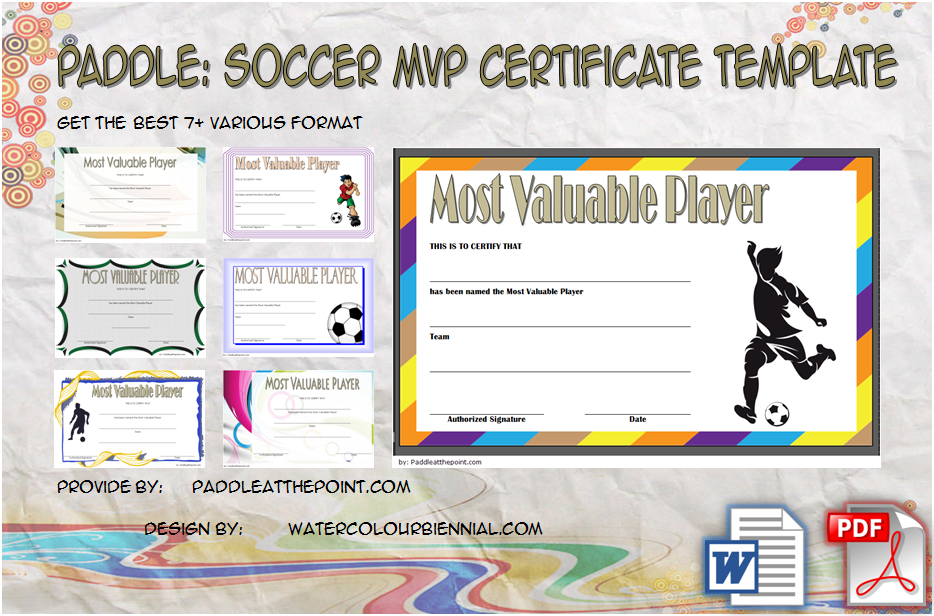 Paddle Certificate - Part 6 Inside Best Volleyball Tournament Certificate 8 Epic Template Ideas