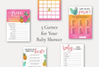 Party Games & Activities Home & Kitchen Baby Shower Games throughout Unique Baby Shower Winner Certificates