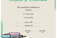 Penmanship Printable Certificate | Handwriting Analysis regarding Handwriting Award Certificate Printable