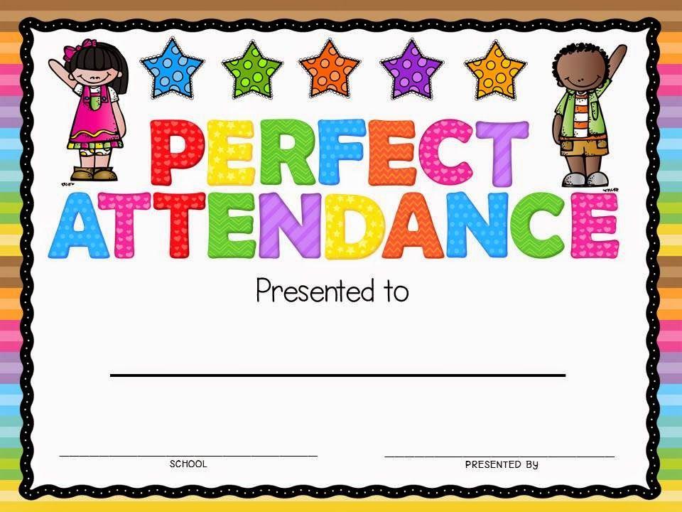 Perfect Attendance Award | Attendance Certificate, Perfect With Regard To Printable Perfect Attendance Certificate Template