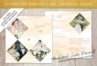 Photography Gift Certificate Template – Photo Gift Card – Layered Design #41 intended for Fresh Photography Gift Certificate