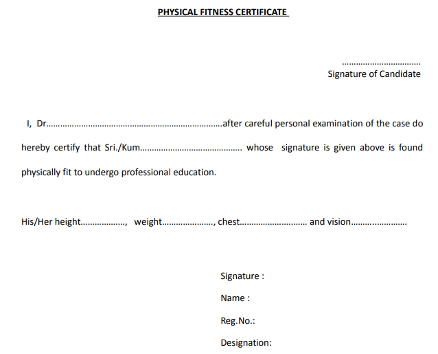 Physical Fitness Certificate. Physical Fitness…   Within Physical Fitness Certificate Templates