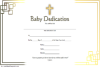 Pin On Baby Dedication Certificate Printable Free in Unique Free Fillable Baby Dedication Certificate Download