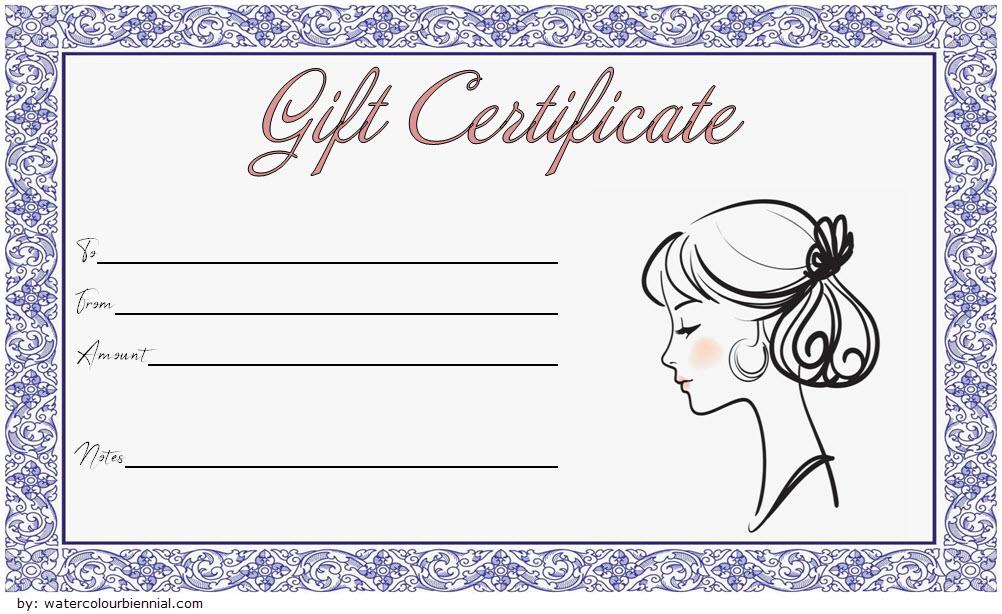 Pin On Fd Inside Fresh Beauty Salon Gift Certificate