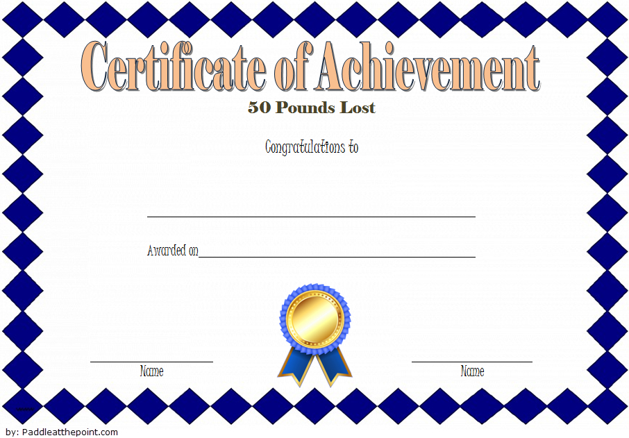 Pin On Fitness Gift Certificate Ideas Intended For Best Weight Loss Certificate Template Free