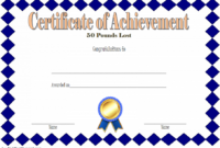 Pin On Fitness Gift Certificate Ideas intended for Weight Loss Certificate Template Free 8 Ideas