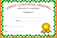 Pin On Fitness Gift Certificate Ideas pertaining to Best Weight Loss Certificate Template Free