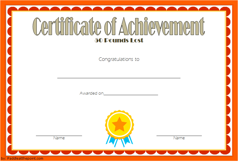 Pin On Fitness Gift Certificate Ideas Throughout Weight Loss Certificate Template Free 8 Ideas