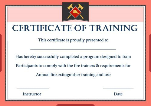 Pin On Fold pertaining to Unique Fire Extinguisher Training Certificate