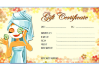 Pin On Free Spa Gift Certificate Templates For Word for Best Free Spa Gift Certificate Templates For Word