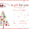 Pin On Gifts within Best Merry Christmas Gift Certificate Templates