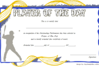Pin On Malir Lions for Best Player Of The Day Certificate Template Free