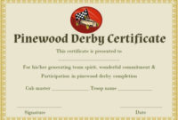 Pin On Pinewood Derby Certificate Template inside Pinewood Derby Certificate Template