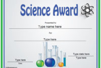 Pin On Science throughout Best Science Achievement Award Certificate Templates