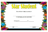 Pin On Star Students throughout Star Student Certificate Templates