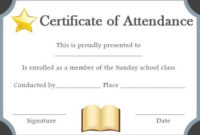 Pin On Sunday School with regard to School Promotion Certificate Template 10 New Designs Free