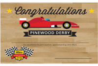 Pinewood Derby Printables – The Gospel Home in Pinewood Derby Certificate Template