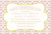 Pinlaryn Andjustin Bellar On Speechy-Keen | Printable for Baby Shower Gift Certificate Template