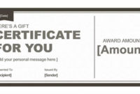 Pinmk Farooq On Certificate Designs | Gift Certificate intended for Editable Fitness Gift Certificate Templates