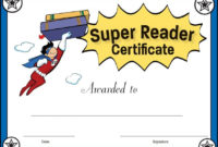 Pinready Teacher On Kinderland Collaborative | Reading intended for Super Reader Certificate Templates