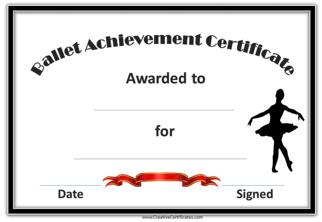 Pinsarah Collins On Glam In 2020 | Certificate Templates Regarding Dance Award Certificate Templates