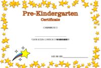 Pre-Kindergarten Diploma Certificate Free (Sparkle) In 2020 for Best Pre K Diploma Certificate Editable Templates