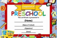Preschool Graduation Certificate Editable Beautiful 10 Free in Best 10 Free Editable Pre K Graduation Certificates Word Pdf