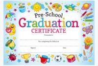 Preschool Graduation Certificates – Preschool, Hd Png intended for Editable Pre K Graduation Certificates