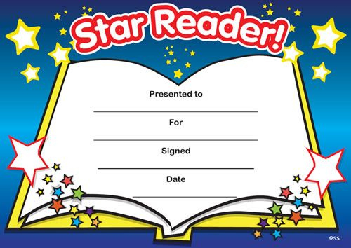 Print Accelerated Reading Certificate   Star Reader Pertaining To Star Reader Certificate Templates