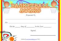 Printable-Basketball-Certificates 7 – Printable Samples with regard to 7 Basketball Achievement Certificate Editable Templates