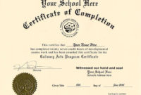 Printable Ged Certificate Template Fake Certificate for Diploma Certificate Template Free Download 7 Ideas