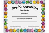 Printable Pre K Graduation Certificates – Guve.securid.co within Fresh Certificate For Pre K Graduation Template