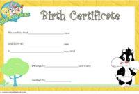 Printable Stuffed Animal Birth Certificate Template Free 3 with regard to Fresh Stuffed Animal Birth Certificate Templates