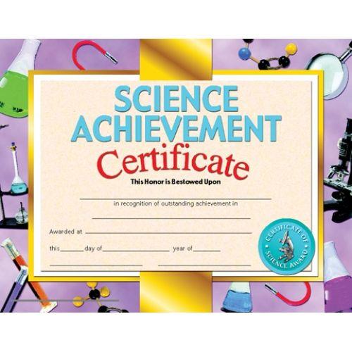 Printer Compatible Certificates & Awards, Science For Unique Science Achievement Certificate Template Ideas