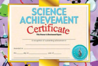 Printer-Compatible Certificates & Awards, Science with regard to Best Science Achievement Certificate Templates