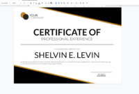 Process Street within Fresh Certificate Of Compliance Template 10 Docs Free