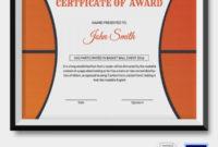 Psd | Free & Premium Templates | Basketball Awards, Awards inside Basketball Certificate Templates