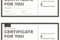 Restaurant-Gift-Certificate-Template 3 – Printable Samples with regard to Restaurant Gift Certificates Printable