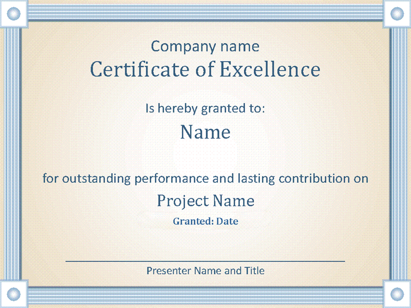 Reward An Employee'S Outstanding Performance With This Intended For 10 Science Fair Winner Certificate Template Ideas