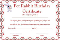 Right Place To Find Free Samples And Templates For Rabbit regarding Rabbit Adoption Certificate Template 6 Ideas Free